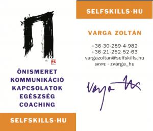 Varga Zoltán / NLP kommunikációs szakember