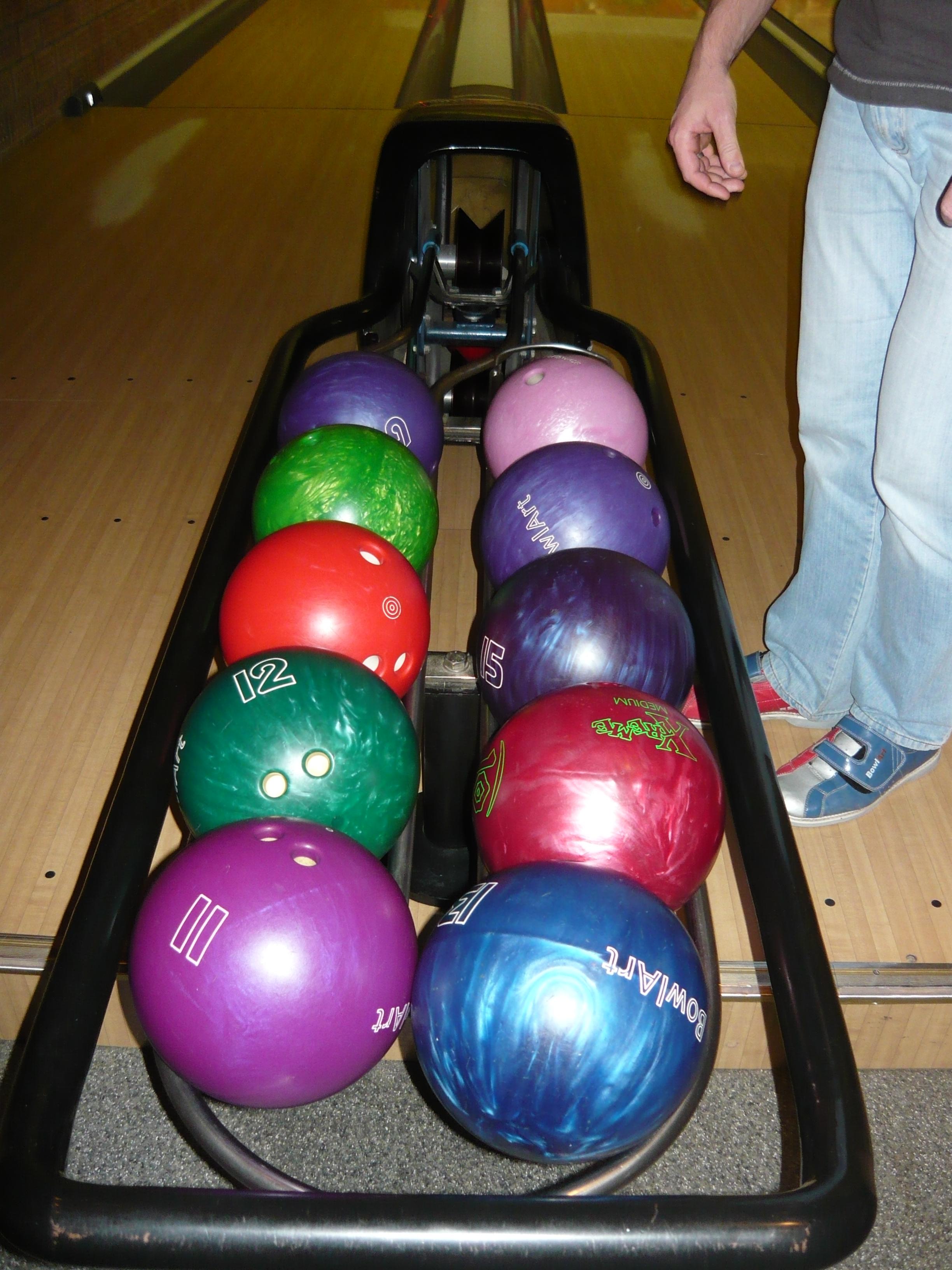 bowling golyó