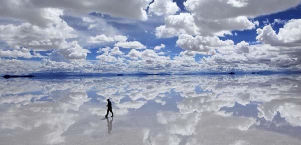 Salar de Uyuni, a föld legnagyobb tükre